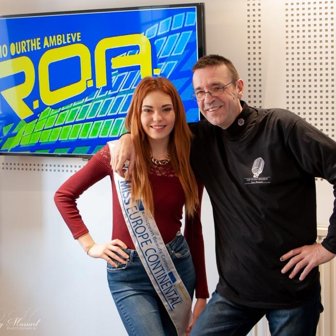 Caroline Royere Miss Europe Dany Massart Didier Puttterie
